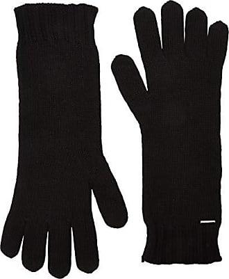 750c0f92455268 BOSS Damen Gamaru Handschuhe, Schwarz (Black 001), One Size  (Herstellergröße: