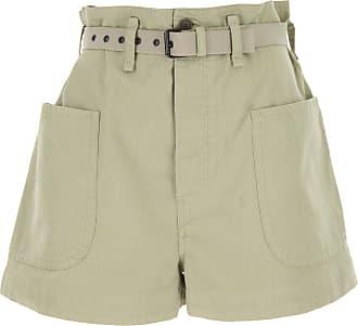 Isabel Marant Shorts for Women On Sale, Khaki, Cotton, 2019, FR 34 âEUR¢ IT 38 FR 36 âEUR¢ IT 40 FR 38 âEUR¢ IT 42