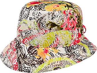 Lipodo Printed Flower Ballonm/ütze Damencap Baker-Boy-M/ütze Schildm/ütze Damen Futter Fr/ühling-Sommer Herbst-Winter Made in Italy mit Schirm