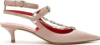 Valentino Garavani Sapato de couro - Preto