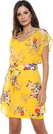 Colcci Vestido Colcci Curto Floral Amarelo