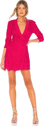 NBD Marco Tux Dress in Fuchsia