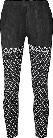 Haculla fish net leggings - Black