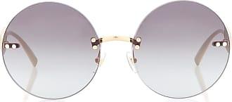 Versace Signature Medusa round sunglasses