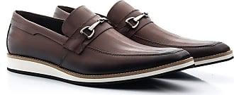Di Lopes Shoes Calçado Social Confeccionado em Couro (41, Wisky)