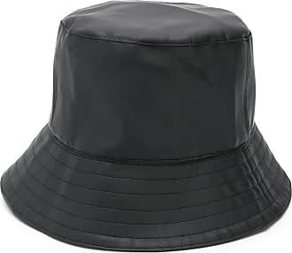 Manokhi faux leather bucket hat - Black