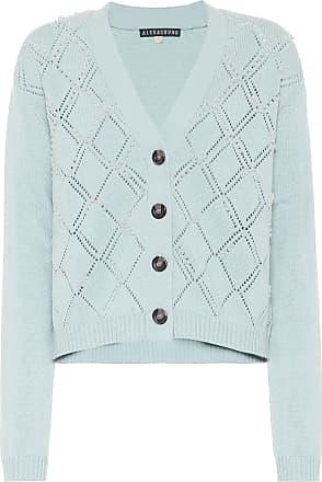 AlexaChung Cardigan in lana e cotone