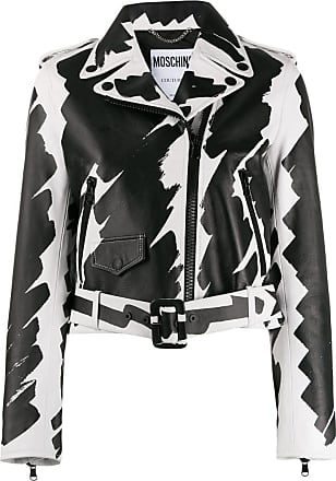 3570bc097 Moschino® Leather Jackets − Sale: up to −65% | Stylight