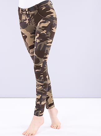 Freddy Camouflage WR.UP regular-rise skinny-fit trousers