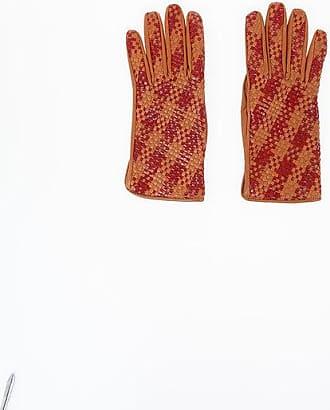 Maison Margiela MM0 Braided Leather Gloves size S