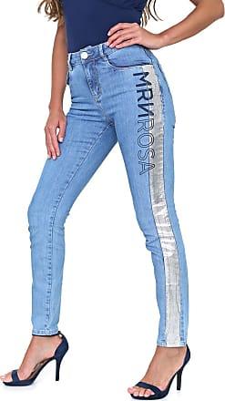 Morena Rosa Calça Jeans Morena Rosa Skinny Andreia Azul