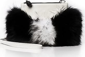 Emm Kuo Majorelle fur pouch