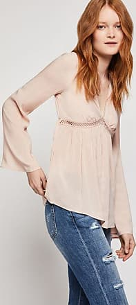 BCBGeneration Long Sleeve Ruched Blouse