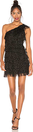 Bcbgmaxazria Tiered Tulle Dress in Black