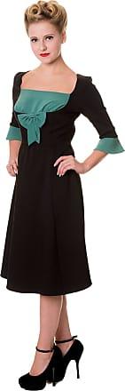 Banned Dress Vintage Bow Dress 5021 - Black - Medium