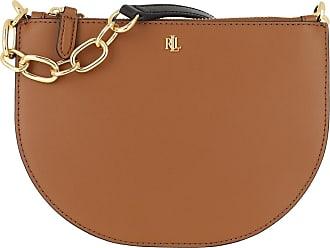 Lauren Ralph Lauren Cross Body Bags - Sutton Crossbody Bag Medium Lauren Tan Vanilla Black - brown - Cross Body Bags for ladies