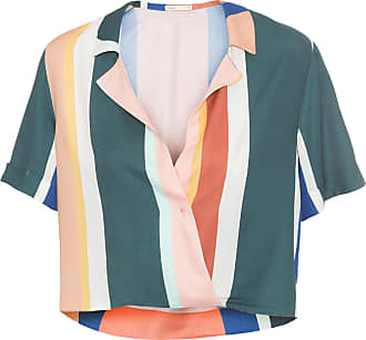 Dress To Blusa Estampa Listra Oásis Dress To - Verde