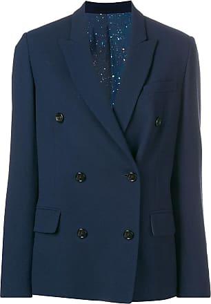 Golden Goose Blazer oversized com abotoamento duplo - Azul