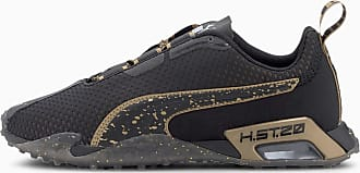 Puma H.St.20 Metal Womens Running Shoes, Black/Metallic Gold, size 3.5, Shoes
