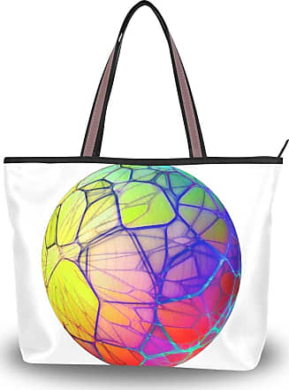 Lorona Women Isolated Transparent Sphere Canvas Shoulder Hand Bag Large Capacity Tote Bag