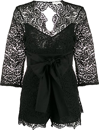Sandro Florane playsuit - Black