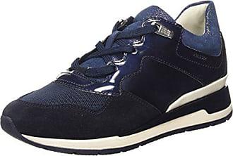 Geox D Nebula C, Damen Sneakers, Blau (NAVYC4002), 41 EU