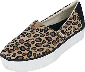 Toms Leopard Alpargata Boardwalk Slip-On - Sneaker - schwarz