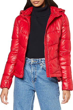 Pepe Jeans London Womens Imani Jacket, (Berry Red 280), X-Large