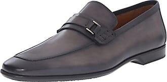 Magnanni Mens Ronin Slip-On Loafer, Grey, 8 M US