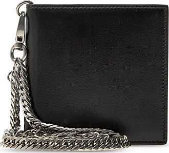 Alexander McQueen Wallet On Chain Mens Black