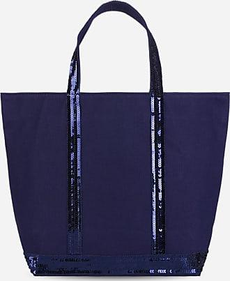 16x30x43 cm Vanessa Bruno femme Cabas Medium Coton Et Paillettes Cabas W x H x L