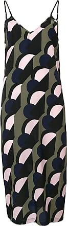 être cécile geometric shift dress - Green