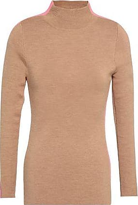d49bc58e87be1 Paper London Paper London Woman Knoxville Striped Wool-blend Sweater Sand  Size XS
