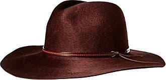 Pendleton Womens Marni Fedora Hat, Burgundy, S-M