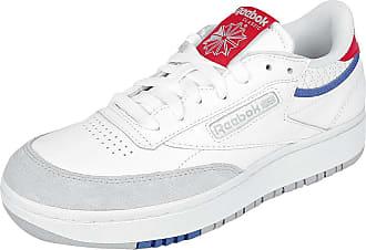 Reebok Club C Double - Sneaker - weiß, rot, blau