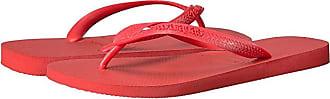 Havaianas Top Flip Flops (Ruby Red) Mens Sandals