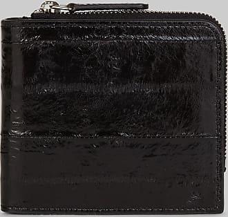 Etro Zipped Leather Wallet, Man, Black