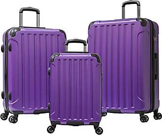 Olympia Whistler Ii 3 Piece Luggage Set 21/25/29 Inch, Purple