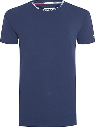 Tommy Jeans CAMISETA MASCULINA HEATHER BRANDED - AZUL