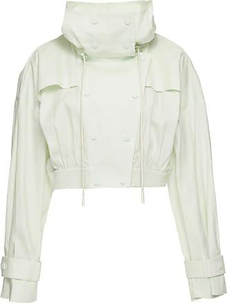 Zimmermann Jaqueta Cropped Branca - Mulher - Branco - 1 AU