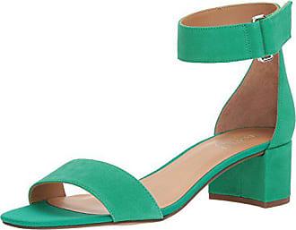 Franco Sarto Womens Rosalina Heeled Sandal, Kelly Green, 6 M US