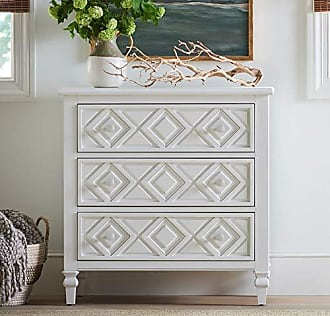Universal Furniture Young House Love 811C845 Diamond Chest, White