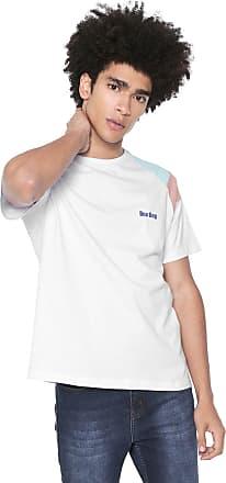 Doc Dog Camiseta Doc Dog Manga Curta Color Block Branca