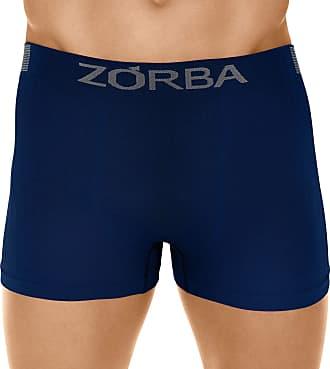 Zorba Cueca Boxer Seamless Trendy, Zorba, Masculino, Marinho, GG