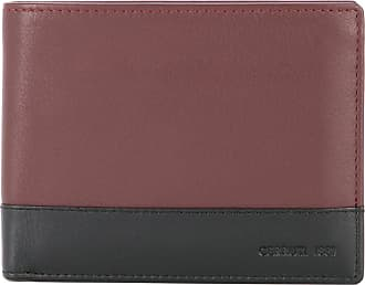 Cerruti two-tone foldover wallet - Brown