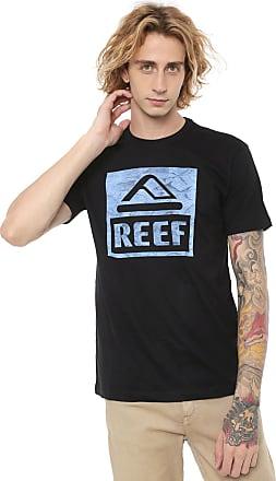 Reef Camiseta Reef Logo Fill Preta