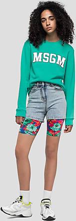 Msgm flower print leggings