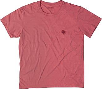 Mash Camiseta Malha Ecológica Coqueiros Vermelho GG
