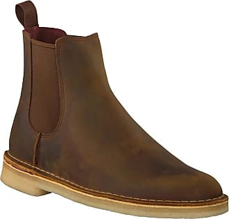 afdd2b651 Clarks Braune Clarks Chelsea Boots 26138267 DESSERT PEAK