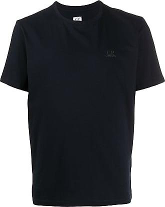 C.P. Company Camiseta com logo no busto - Azul